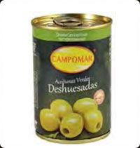 Olives Campomar  Green Pitted 10 Oz
