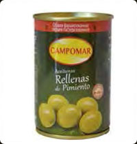 Olives Campomar  Manzanilla stuffed with pepper 10 oz