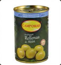 Olives Campomar  Manzanilla stuffed with tuna 10 oz