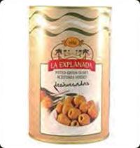 Olives La Explanada Extra flavour green pitted 5Kg
