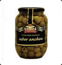 Olives La Explanada Gourmet Green pitted extra flavour 850 ml