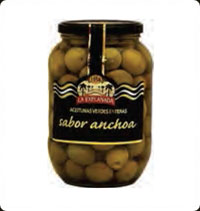Olives La Explanada Gourmet Green whole extra floavour 850 ml