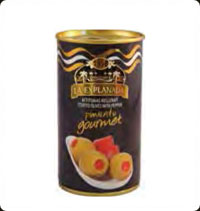 Olives La Explanada Gourmet manzanilla stuffed with natural pepper 12oz
