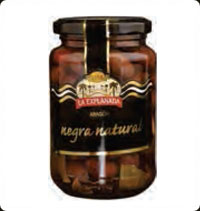 Olives La Explanada Gourmet Natural black olives Aragorn A370