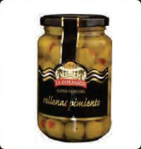 Olives La Explanada Gourmet Stuffed with pepper A370