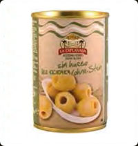 Olives La Explanada Green pitted 10oz