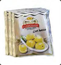 Olives La Explanada Green pitted or whole pack of 3