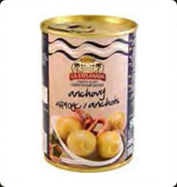 Olives La Explanada Stuffed with anchovy 10 Oz