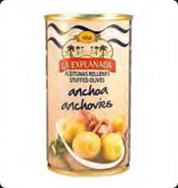 Olives La Explanada Stuffed with anchovy 12 Oz